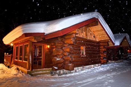 aqua log cabins mount bohemia extreme skiing upper peninsula