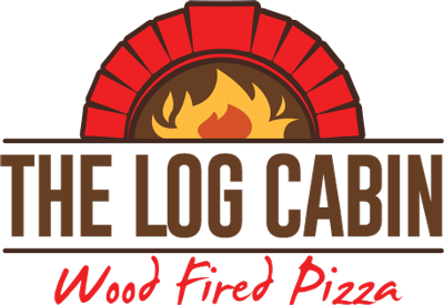 log cabin bistro wood fired pizza