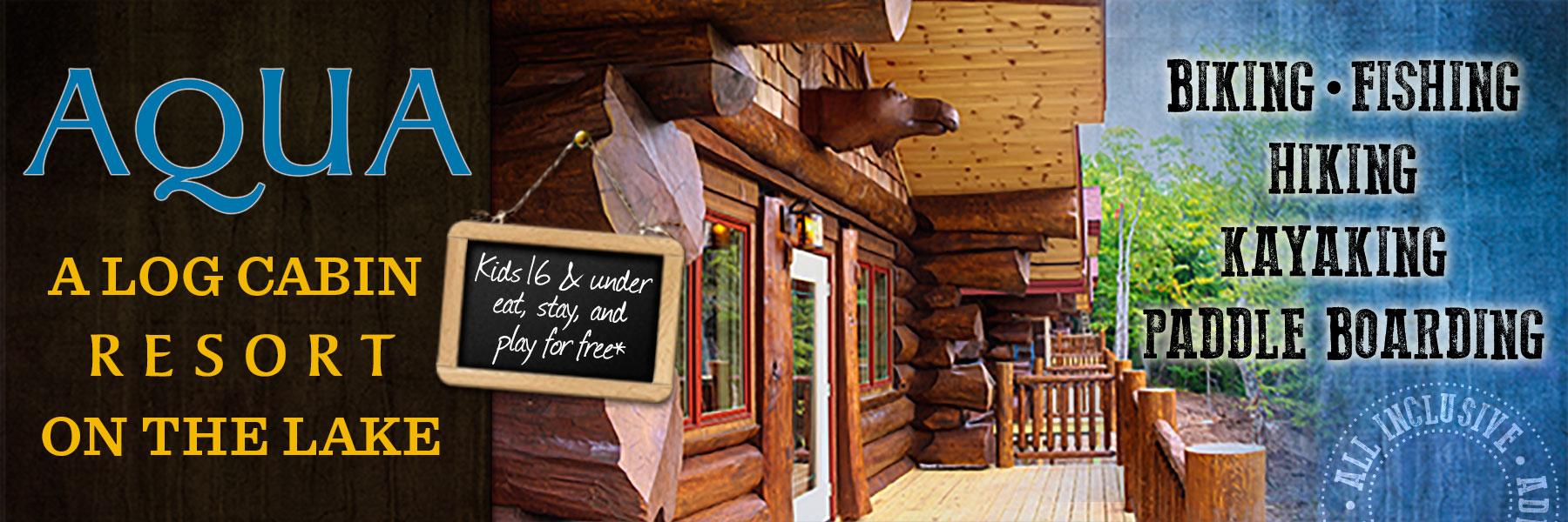 aqua log cabin resort