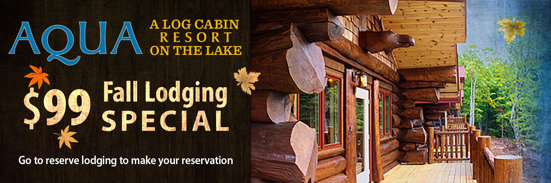fall lodging specials