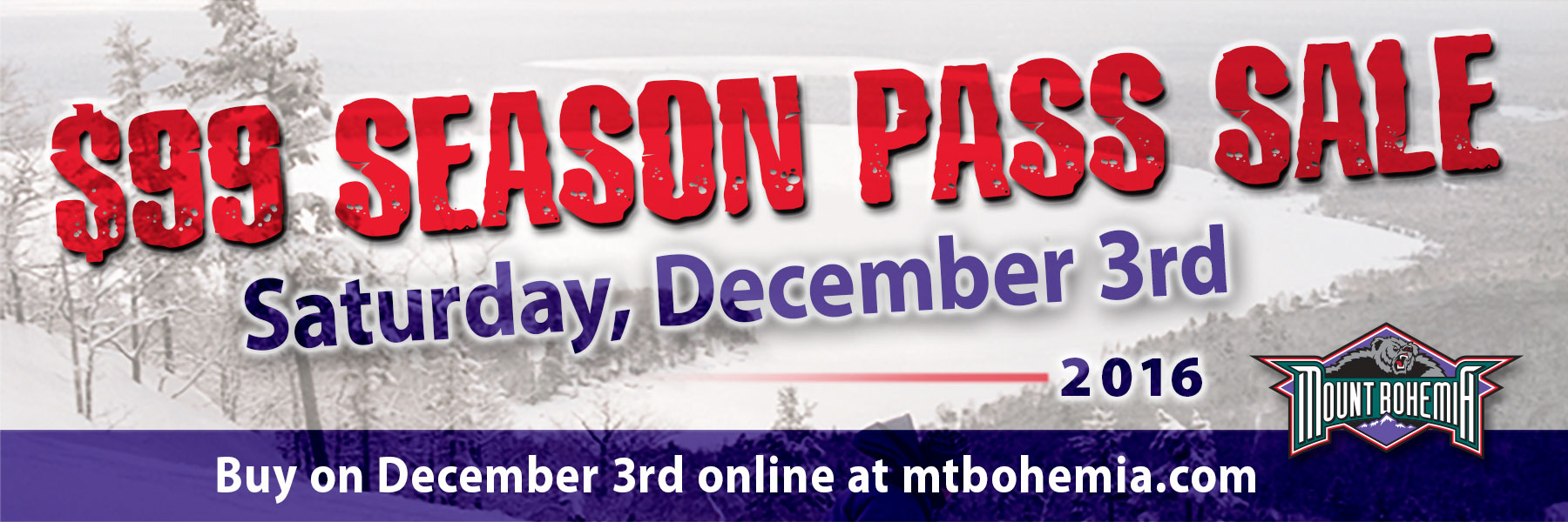 99 dollar season pass sale