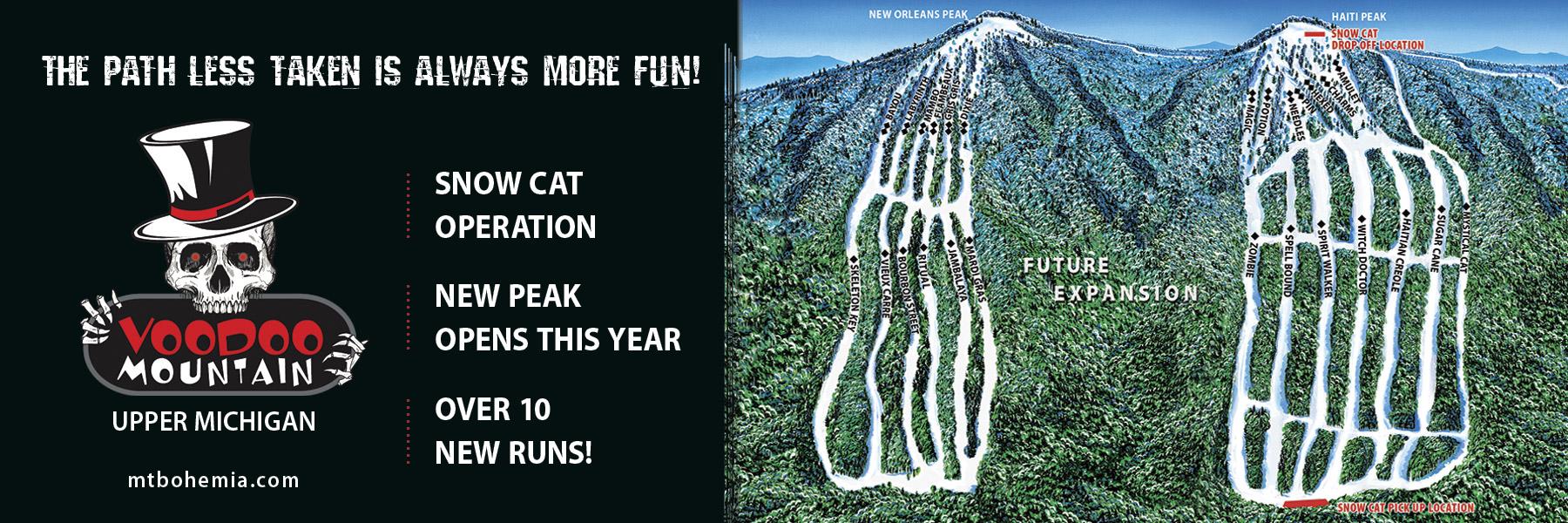 voodoo mountain snow cat skiing