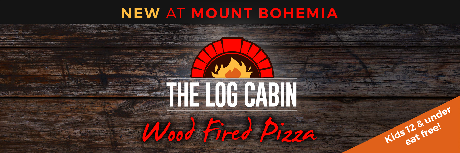 the log cabin wood fired pizza
