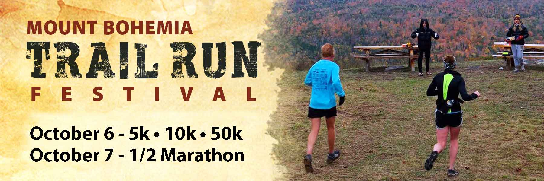 2018 mount bohemia trail run festival