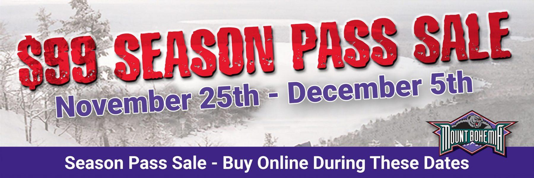 99 season pass sale 110320