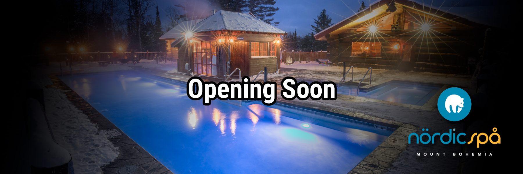 nordic spa opening soon