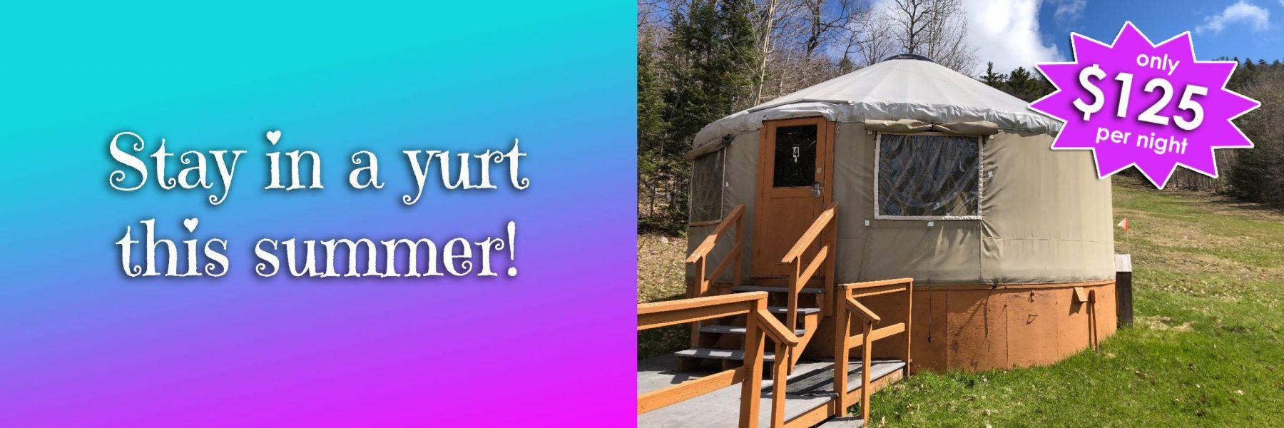 yurt summer 2021