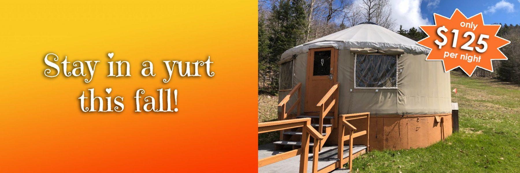 yurt fall 2021
